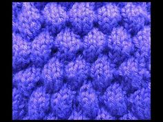 dos agujas punto globos, related videos and comments Knitting Videos, Crochet Videos, Knitting For Beginners, Knitting Stitches, Knitting Patterns Free, Free Knitting, Lace Patterns, Stitch Patterns, Crochet Patterns