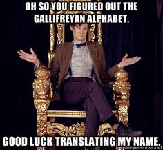 so you figured out the gallifreyan alphabet