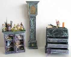 Magic Wizard Dollhouse set by ~grimdeva on deviantART
