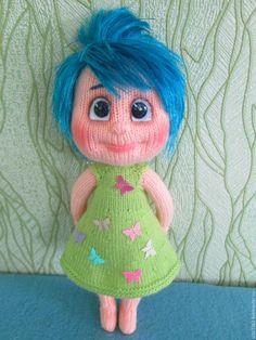 Купить Мастер-класс по вязанию куклы Радость - комбинированный, кукла ручной работы, кукла в подарок