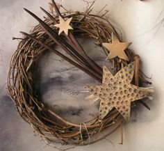 Takový kometový...velký Xmas, Christmas, Grapevine Wreath, Advent, Wicker, Diy And Crafts, Projects To Try, Easter, Home Decor