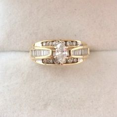 A personal favorite from my Etsy shop https://www.etsy.com/listing/234531640/14k-585-fine-gold-marquise-25ct-diamond