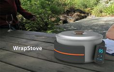 Wrap Stove Portable Camping Stove  http://www.wicked-gadgets.com/wrap-stove-portable-camping-stove/  #camping #gadgets