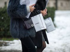 Street Style: Haute Couture Spring 2013 Jan 21