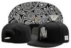 530043b6422 Fashion Hip Hop Men s Cayler Sons Cap Adjustable Baseball Snapback Hat Black  Compton Snapback