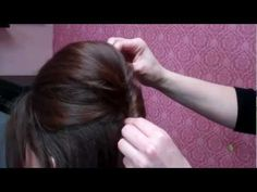 ▶ How To: Amy Winehouse Halloween Up-Do from The Beehive Salon - YouTube (Really good tips for doing volume too!)
