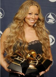 Five time Grammy Award winner Mariah Carey