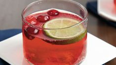 You'll be pleased as punch with how three ingredients mix into a thirst-quenching, ruby red beverage.