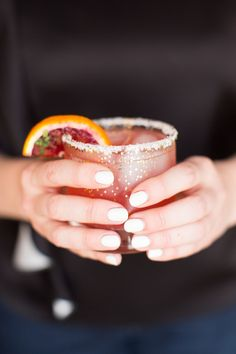Blood Orange + Thyme Paloma | The Styled Life #food #drink #cocktails