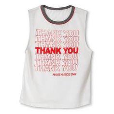 Women's Thank You Tank that I love