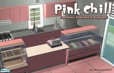 Shannanigan's Pink Chill - Counters and Displays