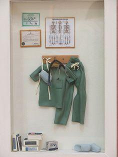 miniature surgeon room