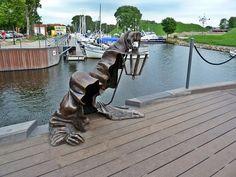 9. Santo Negro, Klaipeda, Lituania, esculturas creativas más importantes del mundo.