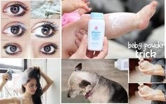 12 brillant uses for baby powder