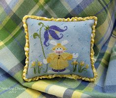 Slicker bunny freebie finish on Stitching Dreams blog