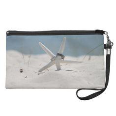Beach Wedding Starfish Wristlet Purse #Zazzle
