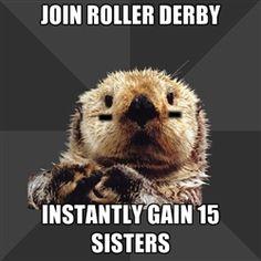 Roller Derby Otter
