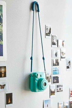 Turquoise FujiFilm X UO Mini 8 Instax Camera