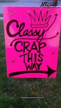 yard sale signs ideas