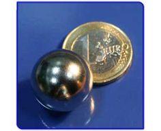 Imán de neodimio Ref. E04 Esfera D19mm Personalized Items, Magnets, Sculpture, Gold