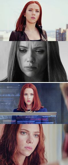 Black Widow: You know, it's kind of hard to trust someone, when you don't know who that someone really is.