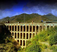 Roman Aquaduct Nerja - Visit Spain Through Stunning Photographs