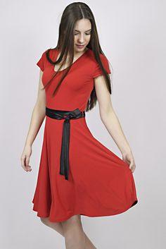 business look, dress, red dress, coctail dress, management, reception, uniforms Dress Red, Wrap Dress, Business Look, Reception, Management, Design, Fashion, Red Gown Dress, Moda