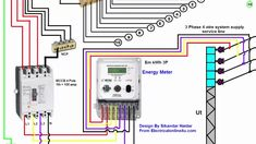Awesome Three Phase Electrical Wiring Diagram 55 With Additional Electric Motor Wiring Diagram Single Phase With Three Phase Electrical Wiring Diagram On 3 Phase To Single Phase Wiring Diag Basic Electrical Wiring, Electrical Circuit Diagram, Electrical Symbols, Electrical Projects, Electrical Engineering, Single Phase Transformer, Current Transformer, Single Line Diagram, Outlet Wiring