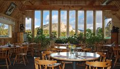 The Laughing Water Restaurant at the Crazy Horse Memorial, South Dakota.