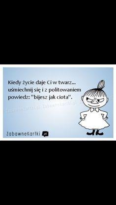 :) Polish Memes, Coping Skills, Study Motivation, Humor, E Cards, Sad Quotes, Motto, Happy Life, Life Lessons