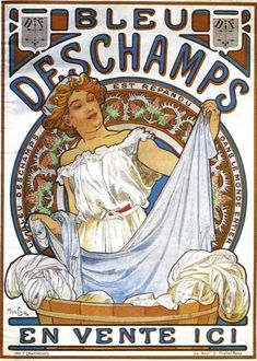 Biscuits Champagne Lefèvre Utile - Alphonse Mucha - WikiPaintings.org