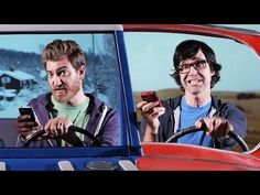 Are You A Better Texter Than Me - Funny Rap Battle By Rhett And Link - #funny #texting #rap #battle