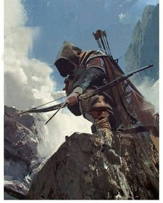 Orc scout archer Art of Fantasy in 2018 t Fantasy art Anime Art Fantasy, Fantasy Art Men, Fantasy Kunst, Fantasy Rpg, Medieval Fantasy, Fantasy Artwork, Dungeons And Dragons Characters, Dnd Characters, Fantasy Characters