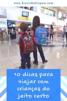10 dicas de viagem com crianças