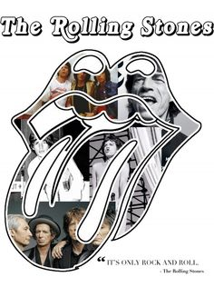 Celebrating 50 years of The Rolling Stones     They are inseparable from the entire genre of rock 'n' roll classics, and were the soundtrack of a generation. The wild darlings of the media, and the collective face of a rowdy time, this group gave modern rock 'n' roll a gritty, yet sensitive side.    Legends.