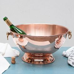Champagne Bowl by Mauviel | MONOQI #bestofdesign