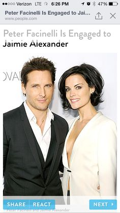 Bridal Bootcamp: Jaimie Alexander Reveals Why She'll Be Super Buff for Her Wedding to Peter Facinelli Jamie Alexander Hair, Jaimie Alexander, Good Hair Day, Great Hair, Medium Hair Styles, Short Hair Styles, Haircut And Color, Hair Today, Hair Dos