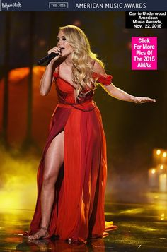 Carrie Underwood's Performance At American Music Awards — Watch 'Heartbeat' - Hollywood Life