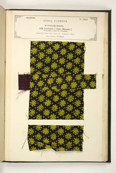 No. 548: Handkerchief | The Textile Manufactures of India | Awesome textile resource