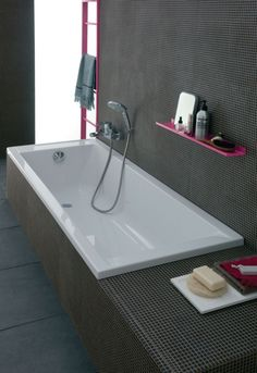 Bathroom Renos, Washroom, Apartment Renovation, Corner Bathtub, Innovation, Interior Decorating, Sweet Home, Style, Geberit