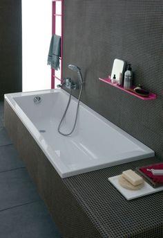 Bathroom Renos, Washroom, Apartment Renovation, Corner Bathtub, Innovation, Sweet Home, Interior Decorating, Style, Geberit