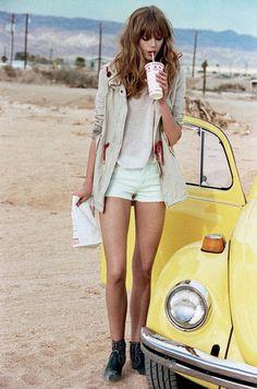 Frida Gustavsson shot by Matt Jones for Elle Italia