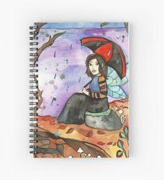 September Fairy Spiral Notebook
