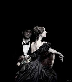 Svetlana Zakharova as Marguerite Gautier, Bolshoi Ballet, March 21 - 2015 Photo: Yekaterina Vladimirova