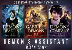 Blitz Tour + #Giveaway ~ Demon's Assistant Series by Tori Centanni @ToriCentanni @candacemom2two
