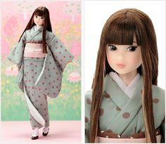 Fashion Dolls, Sheep, Doll Clothes, Kimono, Japanese, Cute, Bags, Beautiful, Ideas