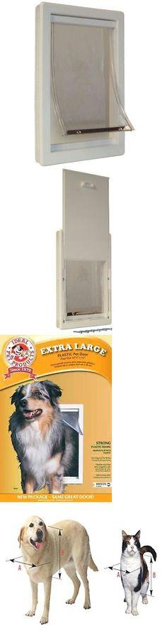 Doors And Flaps 116379 Dog Door Extra Large Cat Pet Flap Door