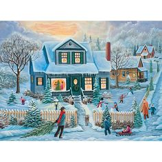 A Christmas To Remember 1000 Piece Glow Jigsaw Puzzle