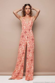 Monos verano 2015, moda mujer colección Awada 2015. Looks de moda 2015.