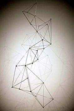 Image result for wireframe sculpture